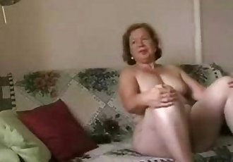 Enjoy my busty mature wife. Amateur older - 1 min 25 sec