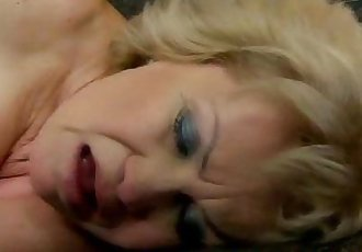 Bigtitted blonde GILF mature doggystyle banged - 6 min