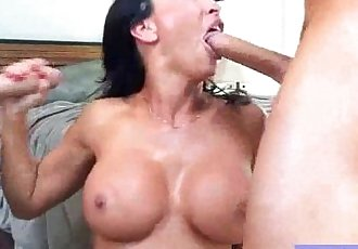 Hard Intercorse On Cam With Busty Mommy clip-18