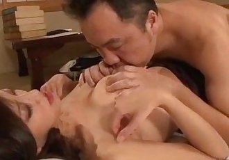 Busty Milf Getting Her Nipple Sucked Getting Her Pussy Stimulated And Fucked Wit