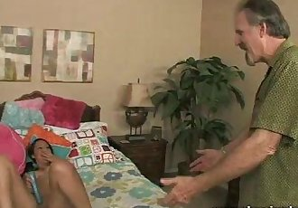The Girl Next Door Fucks Mature Neighbour - 7 min