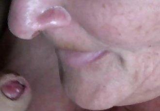 Amateur Granny closeup Blowjob - 2 min