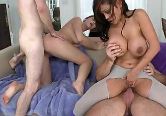 Group sex with Indian MILF - 5 min HD