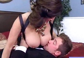 Hardcore Sex Tape With Mature Bigtits Lady video-27