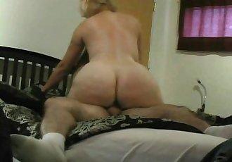 Big Butt Blonde Cougar Karmen45F from Naughty4You.com - 7 min