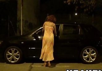 Crazy Mature Voyeur Outdoor. Public StreetHD