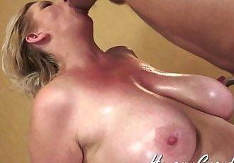 Big Tit Hairy Mature Amber - 7 min