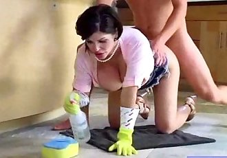 Big Tits Housewife Love Hardcore Intercorse On Tape clip-30