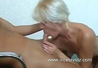 Sexy mature and young boy