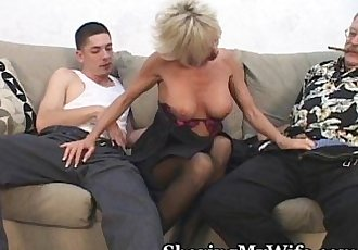 Hot Mature Fucks Young Cock - 3 min