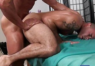Massagecocks Muscle Ass MassageHD