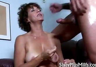 Horny natural mature housewife spooned - 5 min