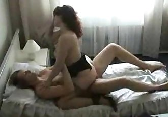 Russian chubby wife and young boy 1