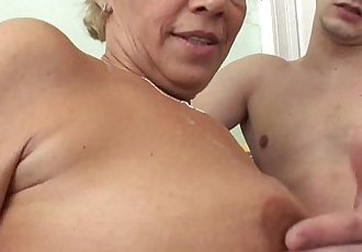 Young Souled Granny Sucking And Fucking Hard CockHD