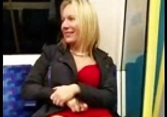 public flashing hot milf - view my account for all hot clips - 3 min