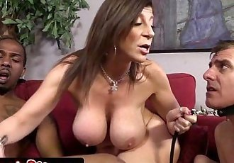 Mature MILF Sara Jay Humiliating Her Cuckold HusbandHD