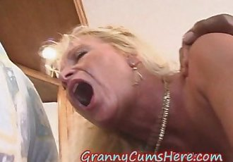 ANAL Babe Granny takes it in the ASS by BBC - 8 min