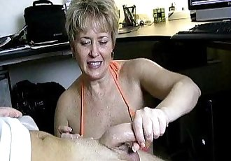 Naughty Mature Handjob In Car - 5 min