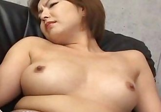 Japanese babe gets her haiy pussy fingered Uncensored - 7 min