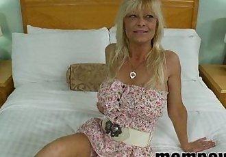 big tit blonde milf fucks young cock - 5 min