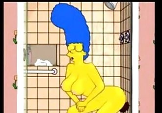 Marge buys a black dildo - 56 sec