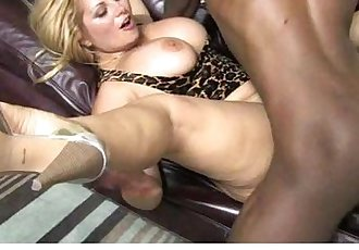 MILF mommy rides black dong 19