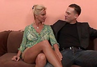 Horny Blonde MILF Cant Get Enough DickHD