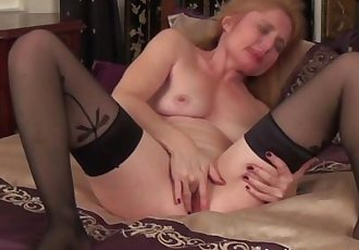 First porn flick for sexy young granny