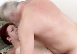 OLD MAN FUCKS FAT GIRL !!