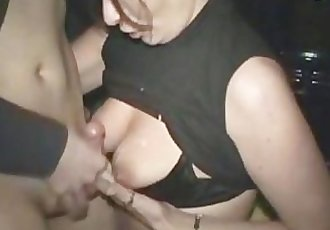 Cougar had fun with a small young cock
