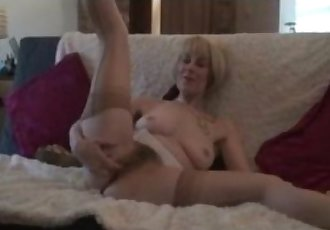Mature Stocking Babes Big Hairy Pussy