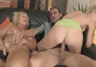 Threesome with her BF\