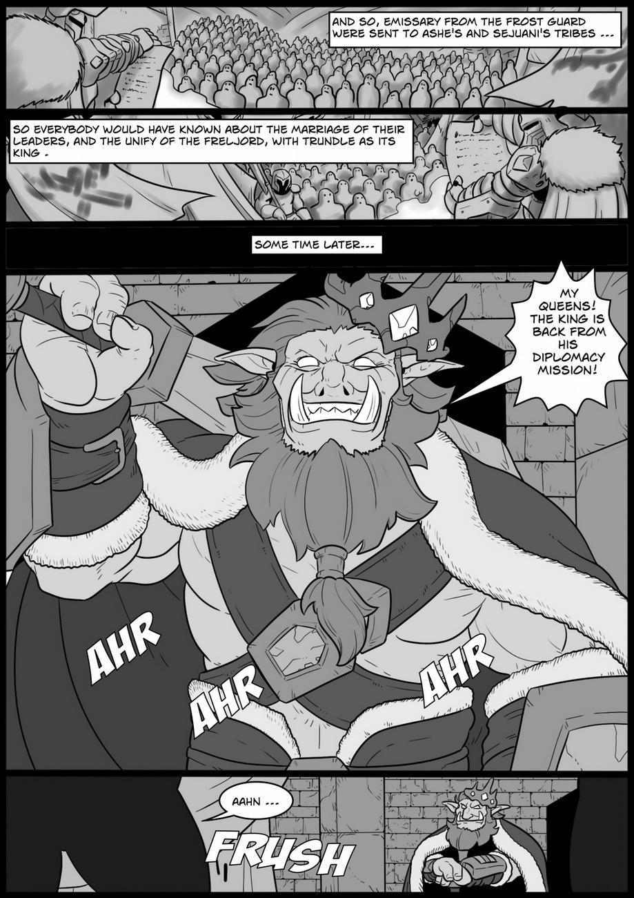 Ashe Lol Porno Comics tales of the troll king 3 - ashe -.. at lol porn